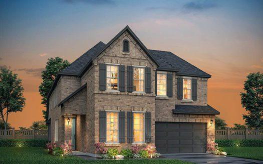 Normandy Homes Estates at Shaddock Park subdivision 13748 Chestnut Glen Lane Frisco TX 75035