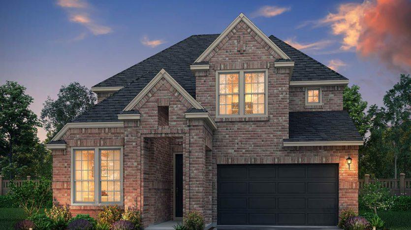 Normandy Homes Estates at Shaddock Park subdivision 13714 Chestnut Glen Lane Frisco TX 75035