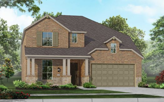 Highland Homes West Crossing subdivision 700 Markham Drive Anna TX 75409