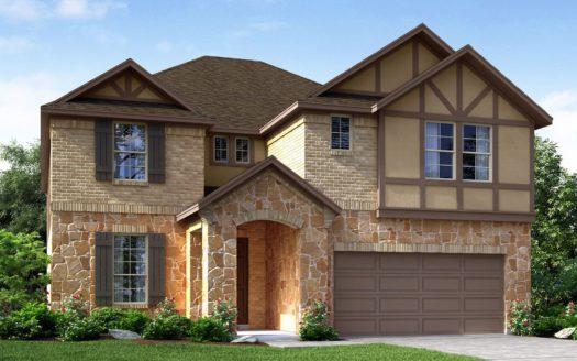 Meritage Homes Northaven - Manor Series subdivision 3701 Brookvale Drive Rowlett TX 75089