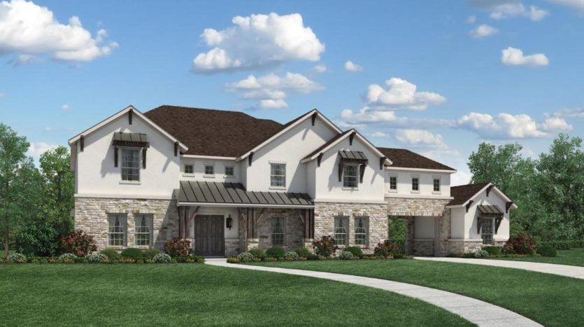 Toll Brothers Town Lake at Flower Mound subdivision 4104 Silverstein St Flower Mound TX 75022