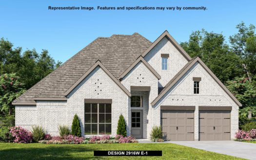 Perry Homes Liberty 60' subdivision 3504 CABELL DRIVE Melissa TX 75454