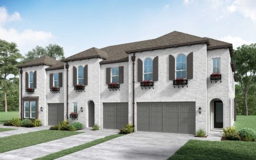 Highland Homes Devonshire: Townhomes subdivision 1106 Queensdown Way Forney TX 75126