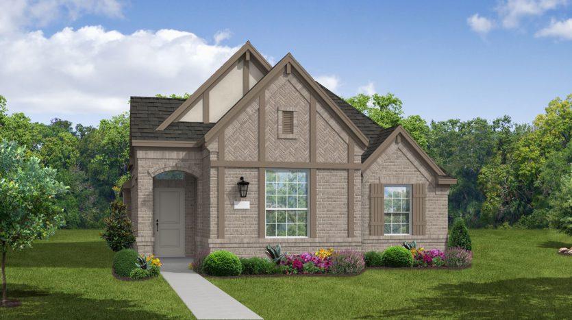 Coventry Homes Trinity Falls 40' subdivision 8325 Oak Island Trail McKinney TX 75071
