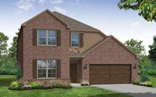 Beazer Homes The Villages of Hurricane Creek subdivision 3220 Hidden Valley Drive Garland TX 75049