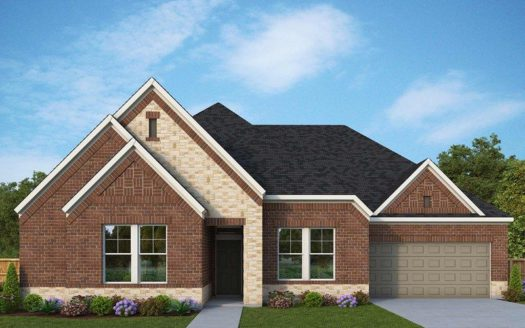 David Weekley Homes The Reserve at Chapel Hill subdivision 4307 Chapel Springs Drive Flower Mound TX 75028