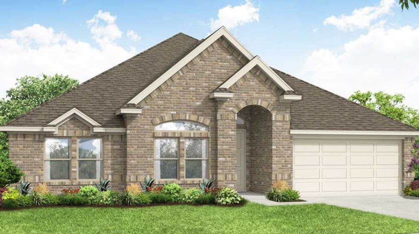 Impression Homes Fox Hollow subdivision 1360 Lone Hill Lane Forney TX 75126