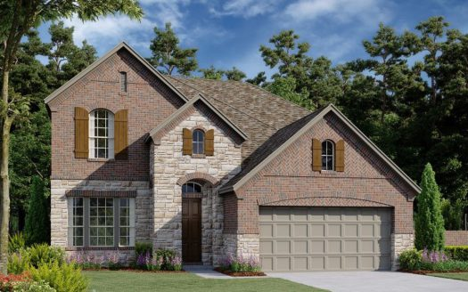 Ashton Woods University Place subdivision 8230 Copper Way Dallas TX 75252