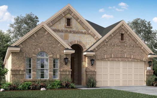 Village Builders Bradford Park 50' subdivision 5557 Winter Haven Bend Flower Mound TX 75028