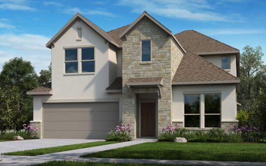 Taylor Morrison The Ridge at Northlake 50s subdivision 1101 Orchard Pass Northlake TX 76226