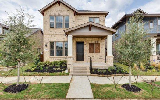 David Weekley Homes Viridian Cottage subdivision 1338 Viridian Park Lane Arlington TX 76005