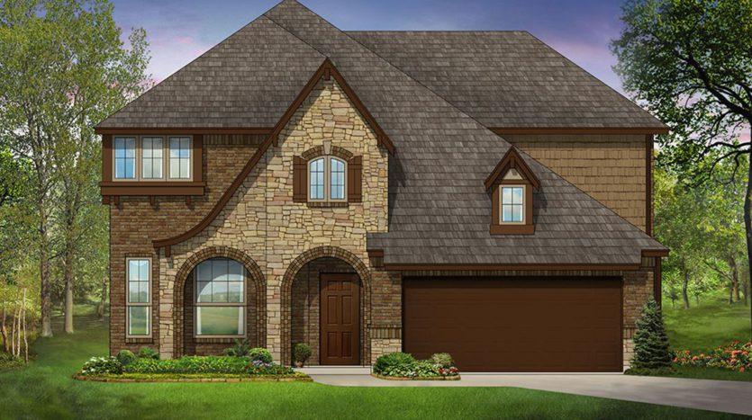 Bloomfield Homes ArrowBrooke subdivision 1412 Sumner Street Aubrey TX 76227