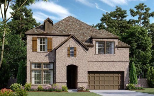 Ashton Woods University Place subdivision 8214 Copper Way Dallas TX 75252