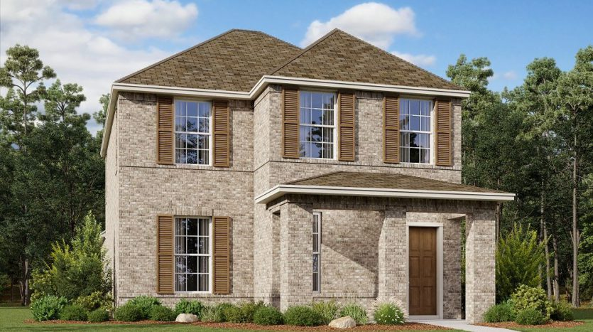 Ashton Woods The Station subdivision 5510 Depot Drive Sachse TX 75048