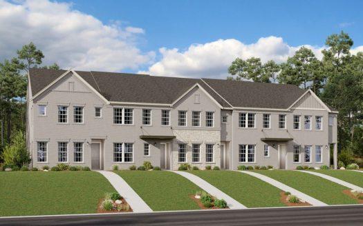 Ashton Woods Legends Crossing subdivision 9905 Hennings Street Irving TX 75063