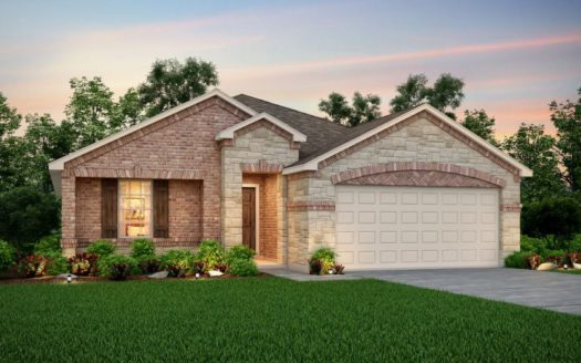Pulte Homes Travis Ranch subdivision 1633 Timpson Drive Forney TX 75126