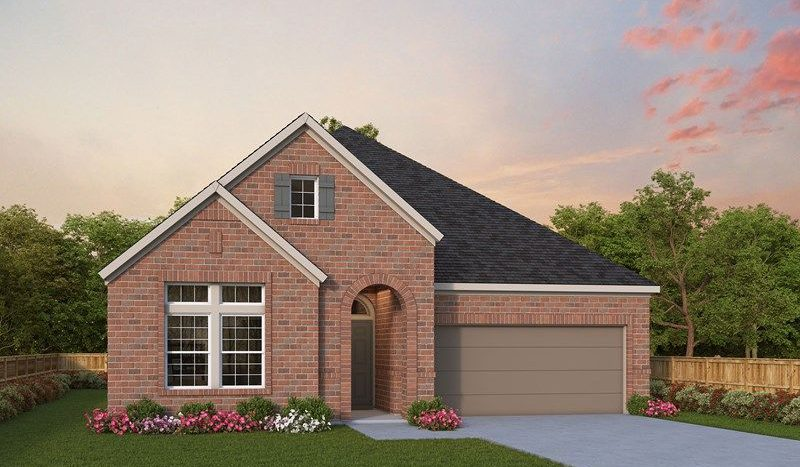 David Weekley Homes Harvest Gardens subdivision 1104 Homestead Way Argyle TX 76226