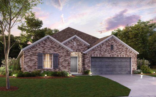 M/I Homes Bluewood subdivision 1112 Cobalt Drive Celina TX 75009