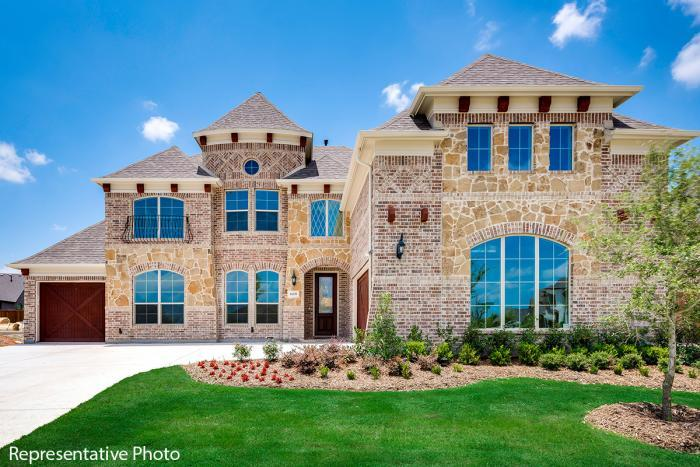 Grand Homes Bower Ranch subdivision 4007 Barlow Court Mansfield TX 76063