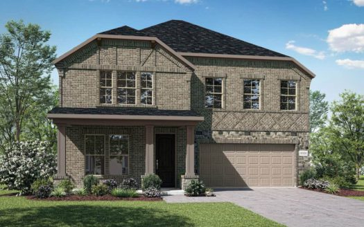 Tri Pointe Homes Gateway Parks subdivision 1836 Big Spring Drive Forney TX 75126