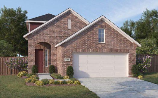 Gehan Homes Iron Horse Village subdivision 2029 Dove Creek Lane Mesquite TX 75149