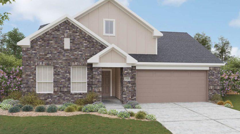 Gehan Homes Clements Ranch - Landmark subdivision 4241 Bullock Lane Forney TX 75126