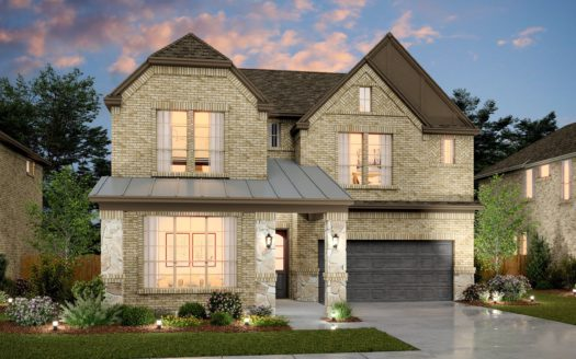 K. Hovnanian® Homes South Pointe subdivision 1813 Birch Street Mansfield TX 76063