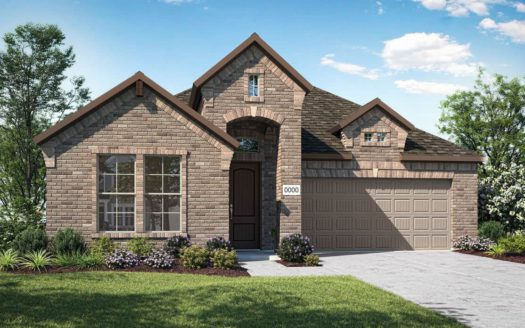 Tri Pointe Homes Gateway Parks subdivision 1304 Caprock Drive Forney TX 75126