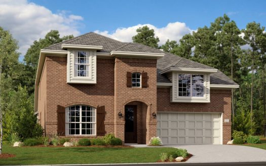 Lennar Hills of Crown Ridge subdivision 10356 Bloom Drive Frisco TX 75035