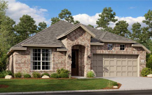 Lennar Northlake Estates Brookstone subdivision 1509 Adams Drive Little Elm TX 75068