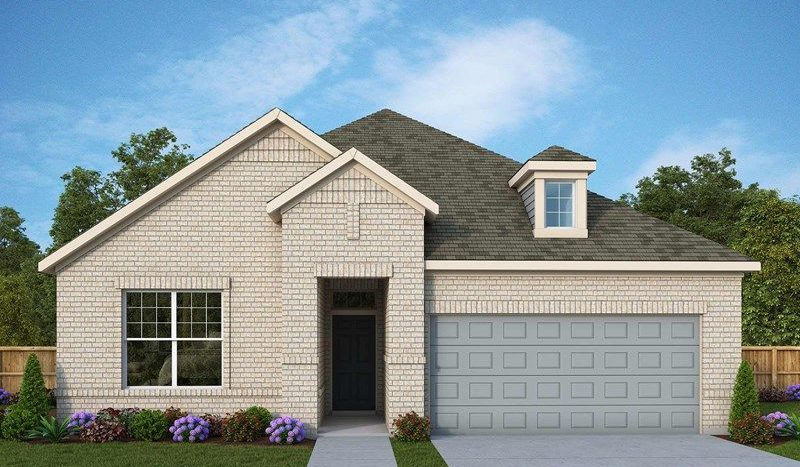 David Weekley Homes Prairie Oaks subdivision 3509 Holly Hill Lane Little Elm TX 75068