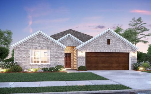 M/I Homes Forest Brook subdivision 1317 Rosler Street Mansfield TX 76063