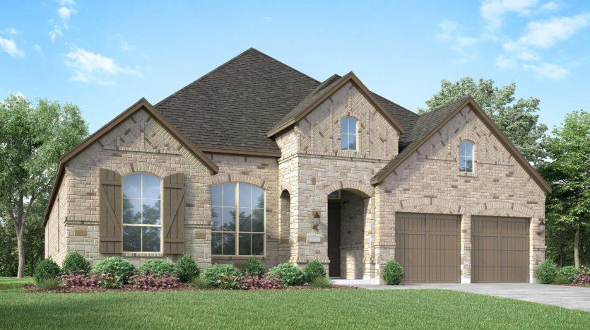 Highland Homes Union Park: 60ft. lots subdivision 5000 Union Park Blvd. Aubrey TX 76227