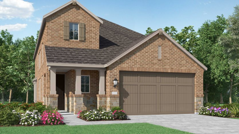 Highland Homes Clements Ranch subdivision 2129 Hobby Drive Forney TX 75126