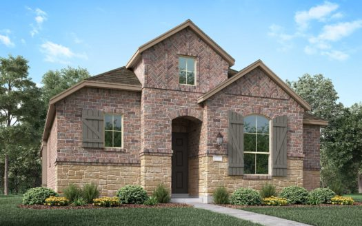 Highland Homes Pecan Square subdivision 2537 Elm Place Northlake TX 76247