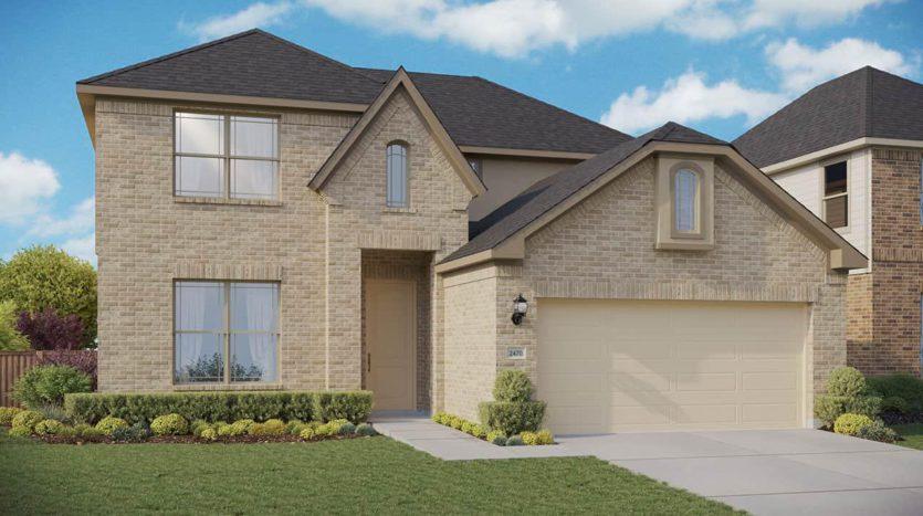 Gehan Homes Green Meadows subdivision 17208 Clover Drive