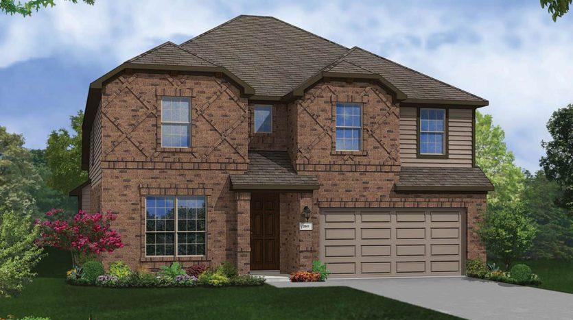 Gehan Homes Anna Ranch subdivision  Anna TX 75409