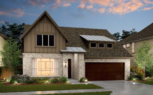 K. Hovnanian® Homes Ascend at Milrany Ranch subdivision Hwy 121 at Milrany Melissa TX 75454