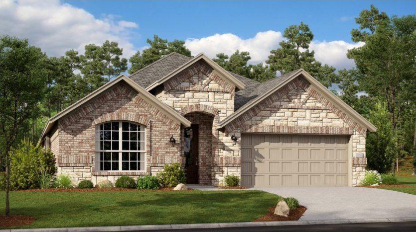 Lennar Hills of Crown Ridge subdivision 10374 Bloom Drive Frisco TX 75035