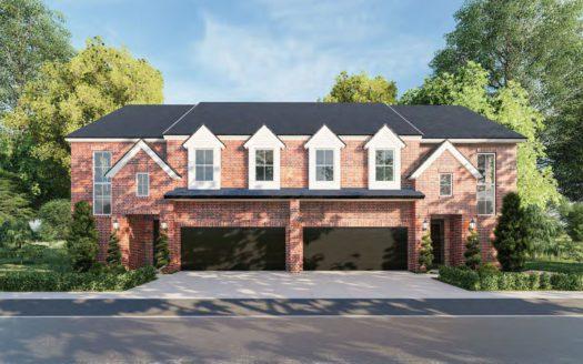 Olivia Clarke Homes Castle Hills subdivision 623 Verrine Way Lewisville TX 75028