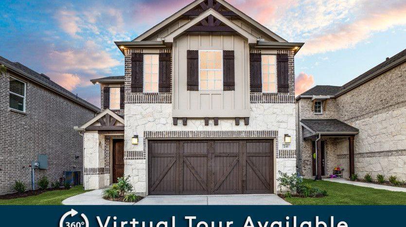 Pulte Homes Legends Crossing subdivision 268 Lee Roy Jordan Street Irving TX 75063