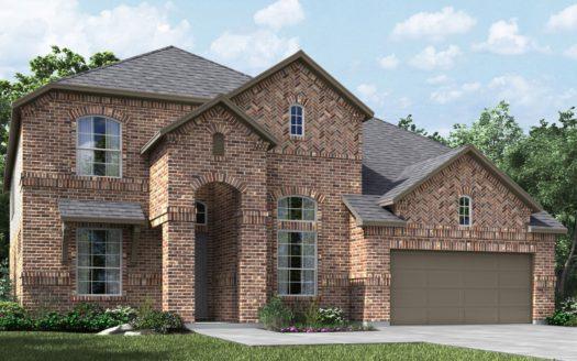 Meritage Homes The Ridge at Northlake subdivision 1208 Huckleberry Street Northlake TX 76226
