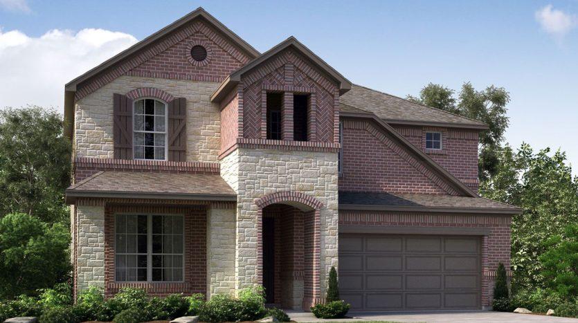 Meritage Homes Northaven - Manor Series subdivision 3704 Chapman Circle Rowlett TX 75089