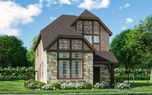 Meritage Homes Ranch Park Village - Cottage Series subdivision 4014 Saddlehorn Way Sachse TX 75048
