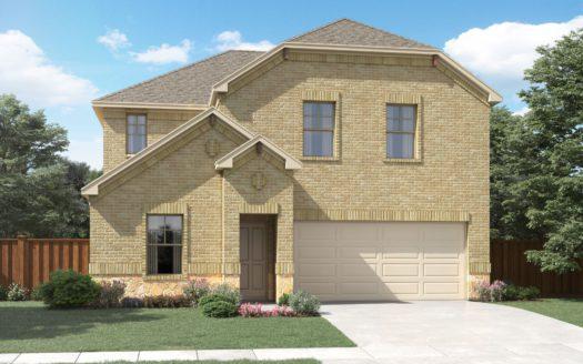 Meritage Homes Kings Ridge subdivision 3409 Chivalry Drive Denton TX 76207