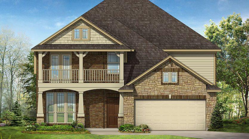 Bloomfield Homes ArrowBrooke subdivision 1312 Arrowwood Drive Aubrey TX 76227
