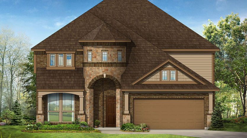 Bloomfield Homes Fox Hollow subdivision 1312 Lone Hill Lane Forney TX 75126