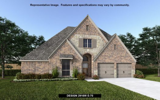 Perry Homes Reserve at Creekside 60' subdivision 813 TURTLE CREEK AVENUE Denton TX 76210
