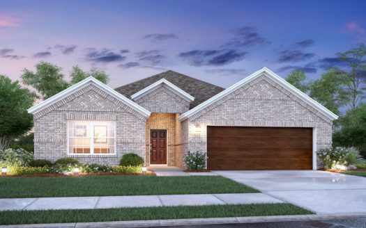 M/I Homes Forest Brook subdivision 1321 Rosler Street Mansfield TX 76063