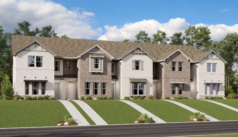 Ashton Woods The Station subdivision 5506 Grand Avenue Sachse TX 75048